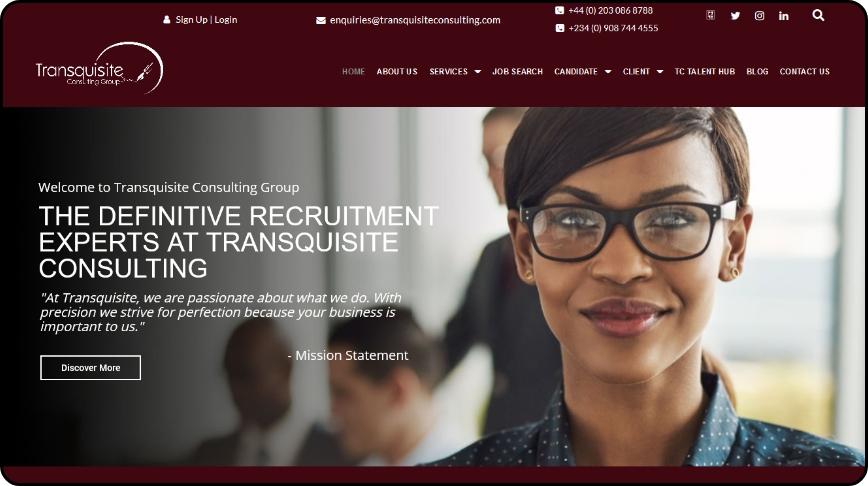 Yooudee - Transquisite Website Image